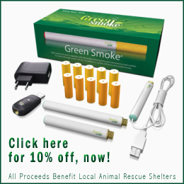 Save 10% now with GreenSmoke Starter Kit Discount Coupons!
